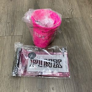 PINK Cup with float and water resistant phone case